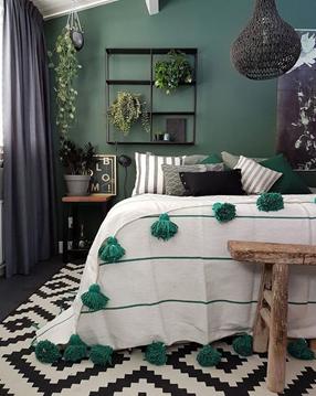 7 Warna Cat dinding yang Cocok untuk Kamar Tidur Minimalis Anda 2