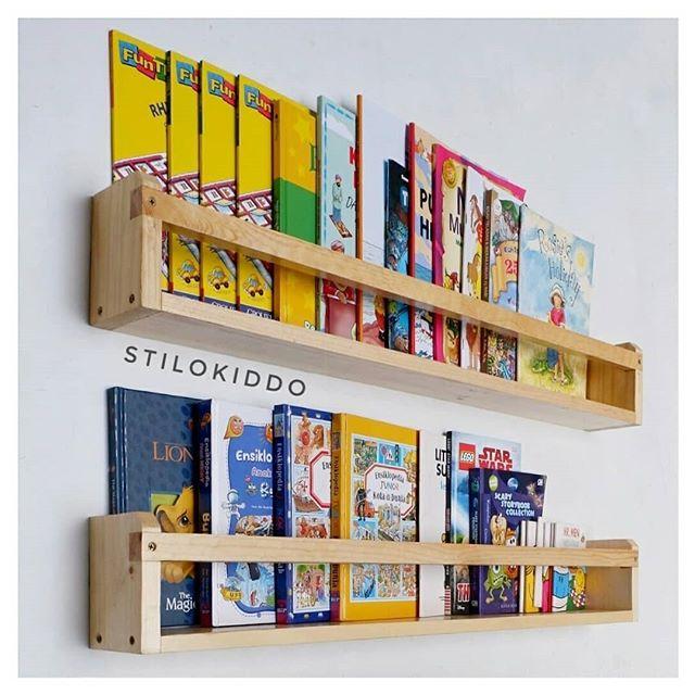 Inspirasi Rak Buku Minimalis Untuk Kamar Anak Ala Stilokiddo 4