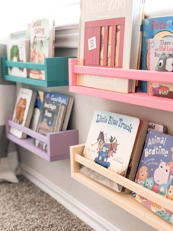 Inspirasi Rak Buku Minimalis Untuk Kamar Anak Ala Stilokiddo 1