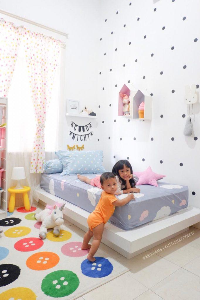 Dekorasi kamar anak Ari Irham