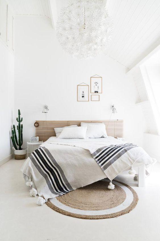 Inspirasi dekorasi kamar tidur minimalis dengan nuansa warna putih
