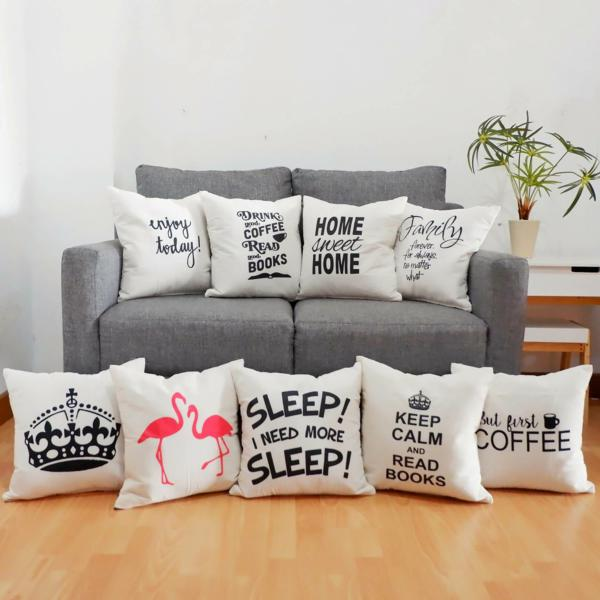 Quote Cushion Cover