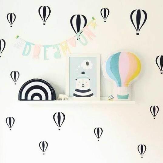 Dekorasi rumah mungil - Wall Sticker