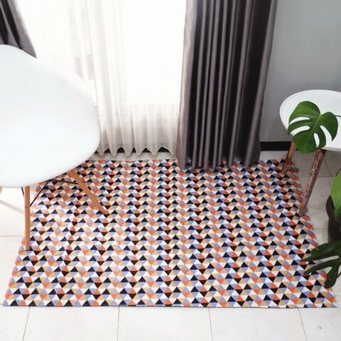 Dekorasi rumah unik: karpet premium