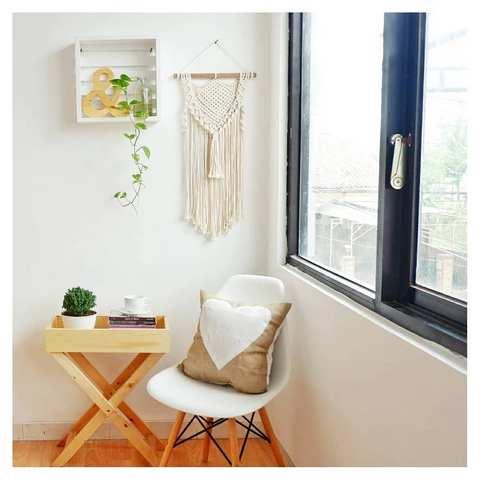Desain interior kayu - desain ruang santai