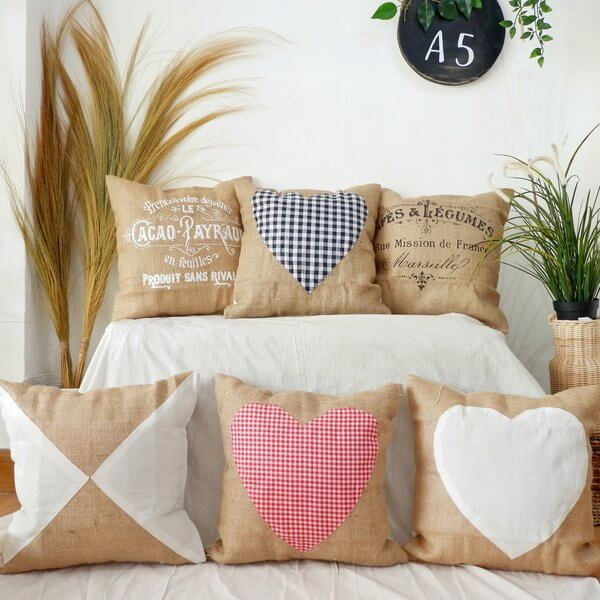 Cushion Cover Burlap