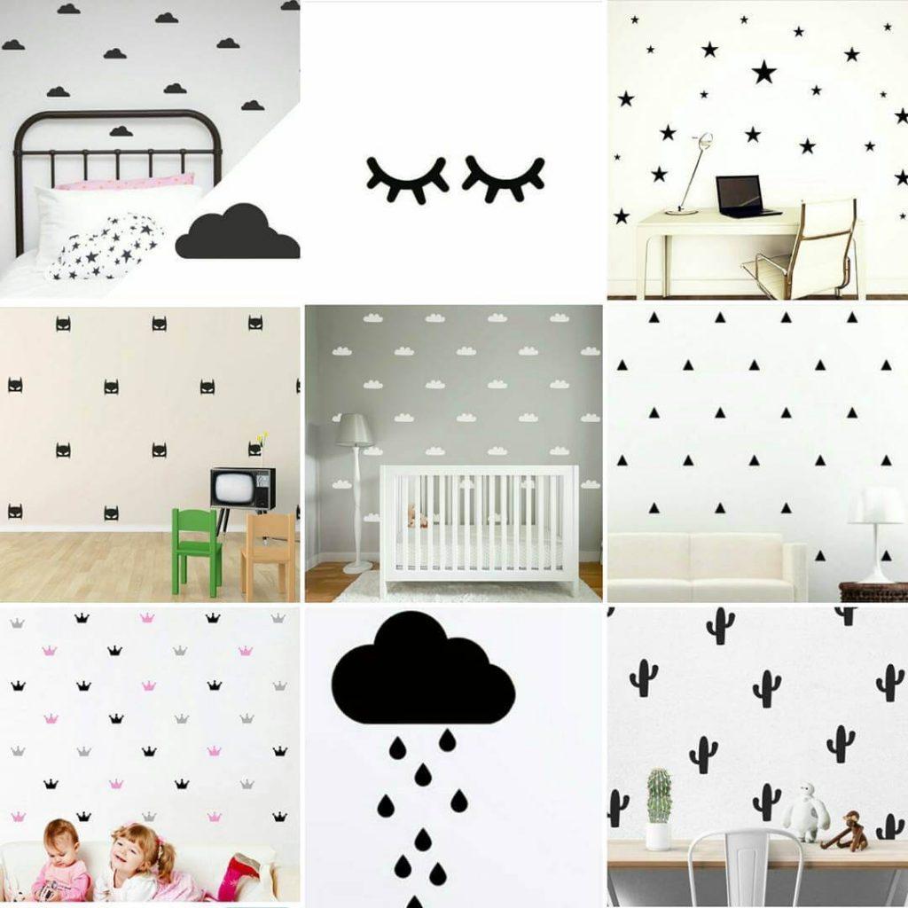Kamar anak yang sederhana - Wall decal