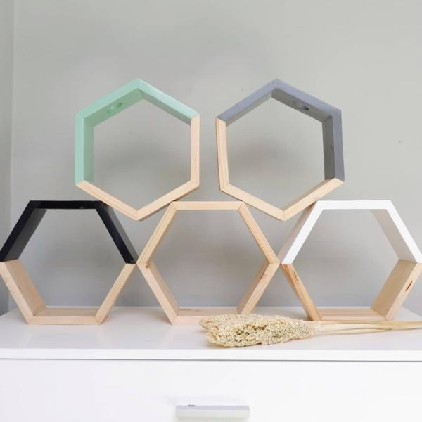 Small Hexagon (Rak Hexagon Kecil)